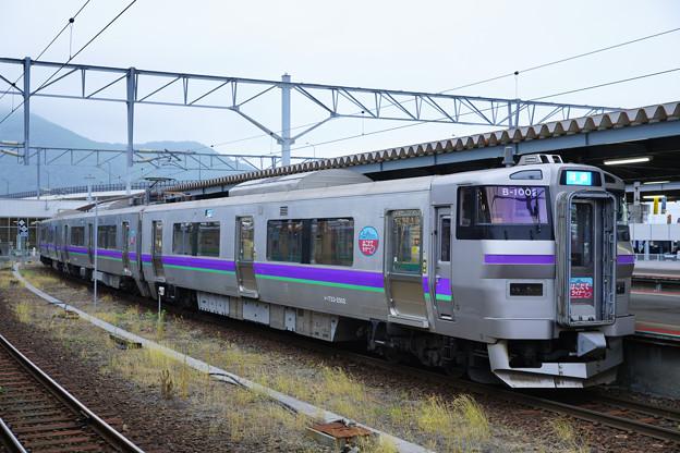 733系はこだてライナー@函館駅