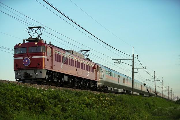 EF81-98牽引 カシオペア紀行@蒲須坂ー片岡