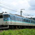 Photos: 115系長野色@古間~黒姫