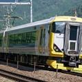 Photos: E257系 かいじ186号@初狩S字