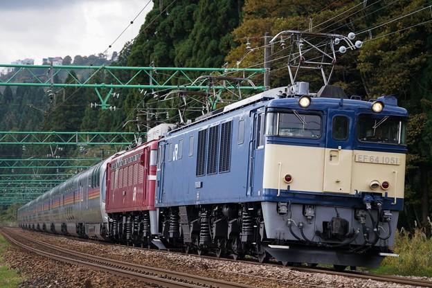 EF64-1051+EF81-80重連 東日本週遊カシオペア紀行@石打~大沢