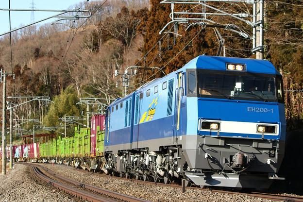 6098レ EH200-1+コキ@上牧~後閑
