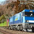 Photos: 6098レ EH200-1+コキ@上牧~後閑