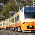 Photos: 回9734M E653系U-102 団臨送り込み@上牧~後閑