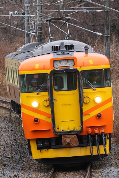 Photos: 115系S9編成台鉄自強号色@御代田カーブ