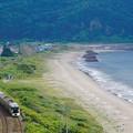 Photos: TRAIN SUITE 四季島@カムイチャシ俯瞰