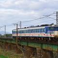 Photos: キハ47形@阿賀野和橋梁