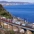 Photos: 1097レ EF66-27+コキ@石橋鉄橋2