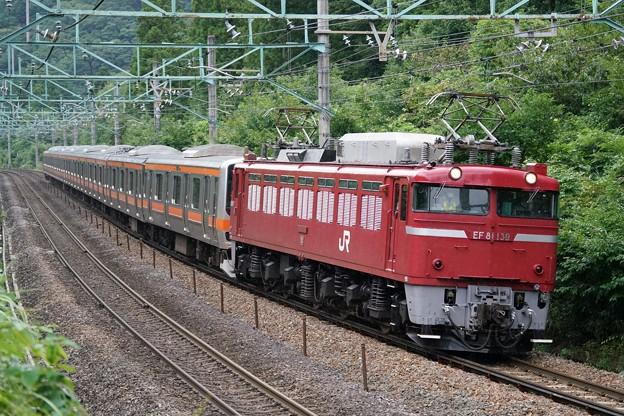 配9736レ EF81-129+E231系