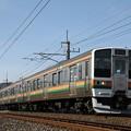 Photos: 211系A59編成@西松井田~松井田