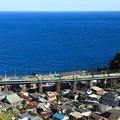 Photos: 54レ EF66-111牽引 福山レールエクスプレス@石橋最上段俯瞰