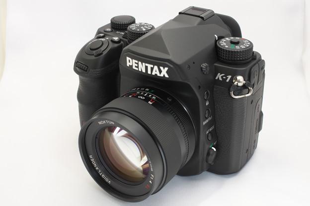PENTAX K-1 (with COSINA Voigtländer NOKTON 58mm F1.4 SLII)
