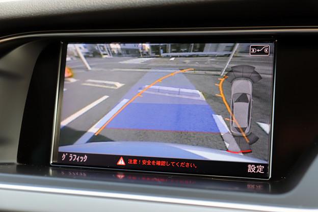 アウディパーキングシステム付きバックカメラ