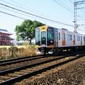 Photos: 朱雀門と阪神電車