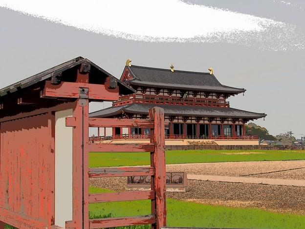 Photos: ある日の大極殿