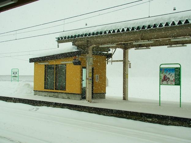 雪の後三年駅