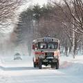 岩手県北自動車のボンネットバス