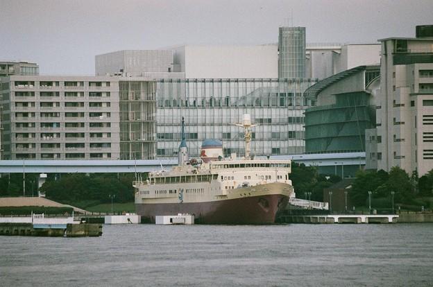 船の科学館の「羊蹄丸」