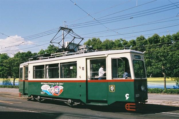 元オーストリア グラーツ市電320号