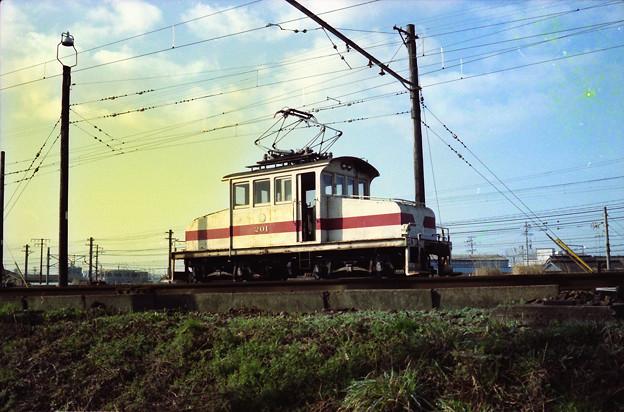 豊橋鉄道デキ201