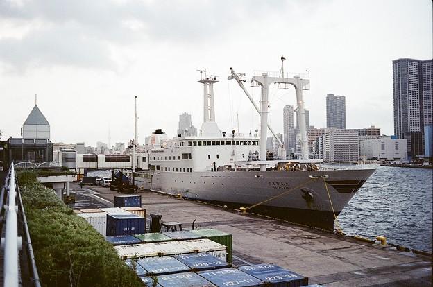 Photos: 竹芝桟橋にて