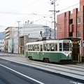 リバイバル塗装の函館市電812