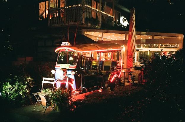 日比谷公園の三輪車