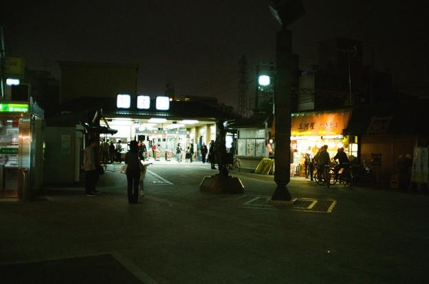 柴又駅夕景