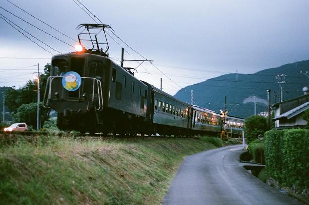 大井川鉄道E102「ビール列車」