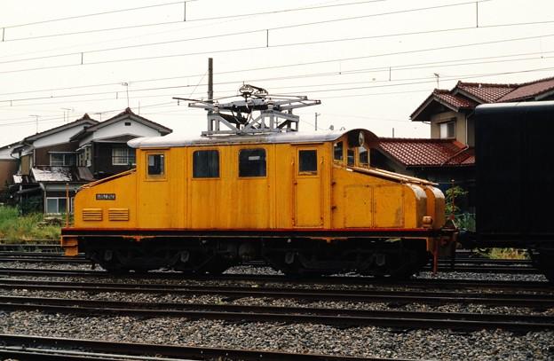 富山地方鉄道無番機(旧デキ6502)