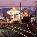 早暁の臨時列車(デキ重連+「やすらぎ」)