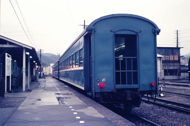 発車を待つ「ブルートレイン」