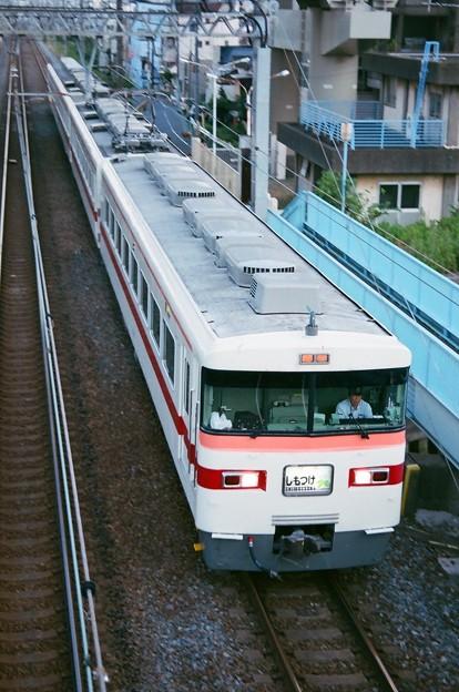 隅田水門付近を通過する下り「しもつけ」