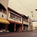 中新湊の商店街