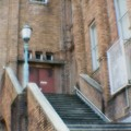 Photos: 【35ミリフルサイズ】市政会館の階段