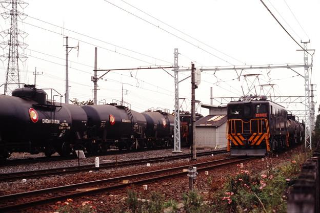 貨物列車同士の交換