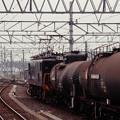 発車を待つタンカートレイン