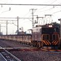 佐野線の砕石輸送列車(返空)