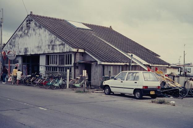 波崎の渡船場