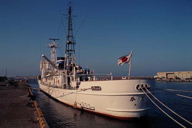 PL125「かとり」船尾