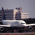 ルフトハンザ航空のエアバスA340