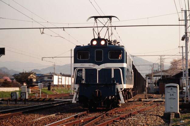 秩父鉄道デキ203