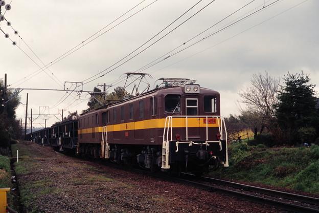 Photos: 三岐鉄道ED45 4+ED45 9