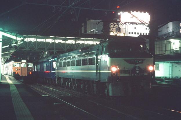 沼津駅にて