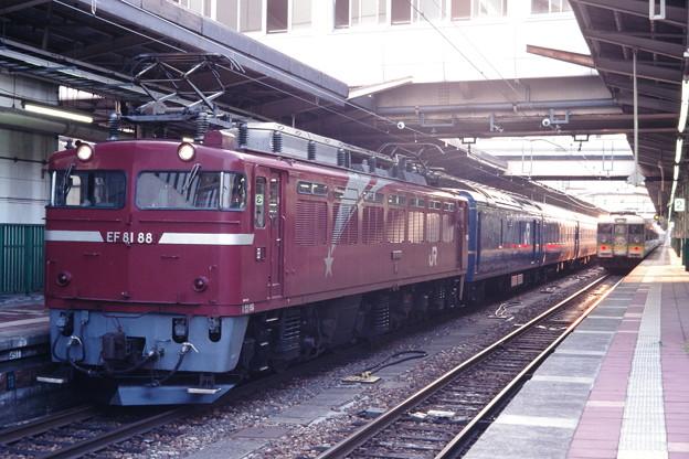 24系団体臨時列車と「ムーンライトえちご」