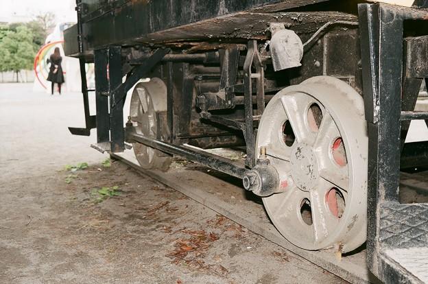 5トン移動機の丸棒ロッド