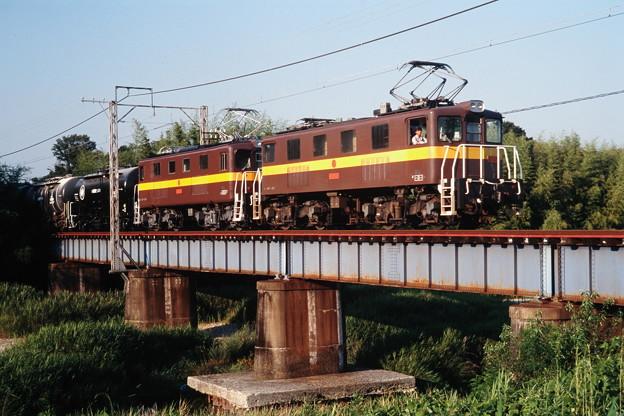 Photos: 三岐鉄道ED45 7+ED45 1(?)