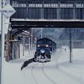 Photos: 小沢駅を通過する「北斗星ニセコスキー」