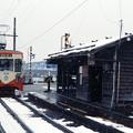 雪の庄川口駅