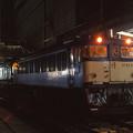 長野駅で長時間停車中の下り急行「能登」